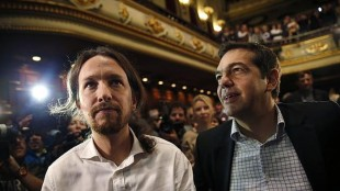 Pablo Iglesias participará en un mitin de Syriza para dar su apoyo a Tsipras