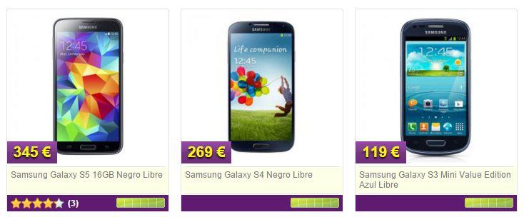 Smartphones en MyTelecom