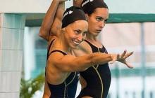 Oro de España en natación sincronizada en el Open de Francia