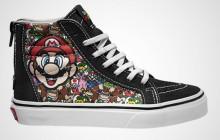 Las zapatillas Vans rinden homenaje a los videojuegos de Nintendo