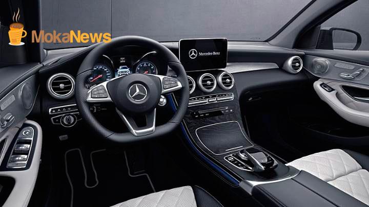 interior Mercedes GLC Coupé en consesionario Luis batalla de castellon