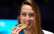 Mireia Belmonte consigue tres medallas en los mundiales de Natación