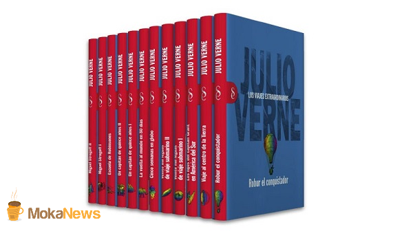 Julio Verne forma parte de las colecciones de Signo editores
