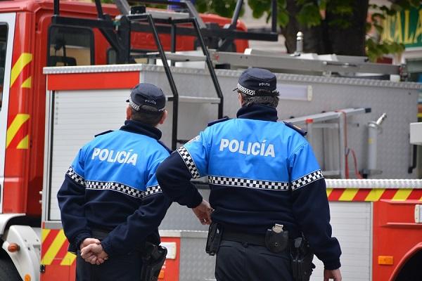 Preparación policía nacional