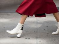 Botines blancos, cómo vestir con la tendencia de 2017