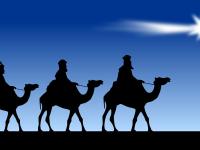 Los Reyes Magos vienen volando