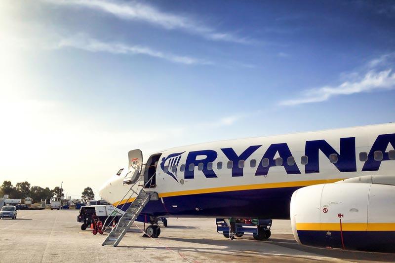 Ryanair aterrizaje de emergencia