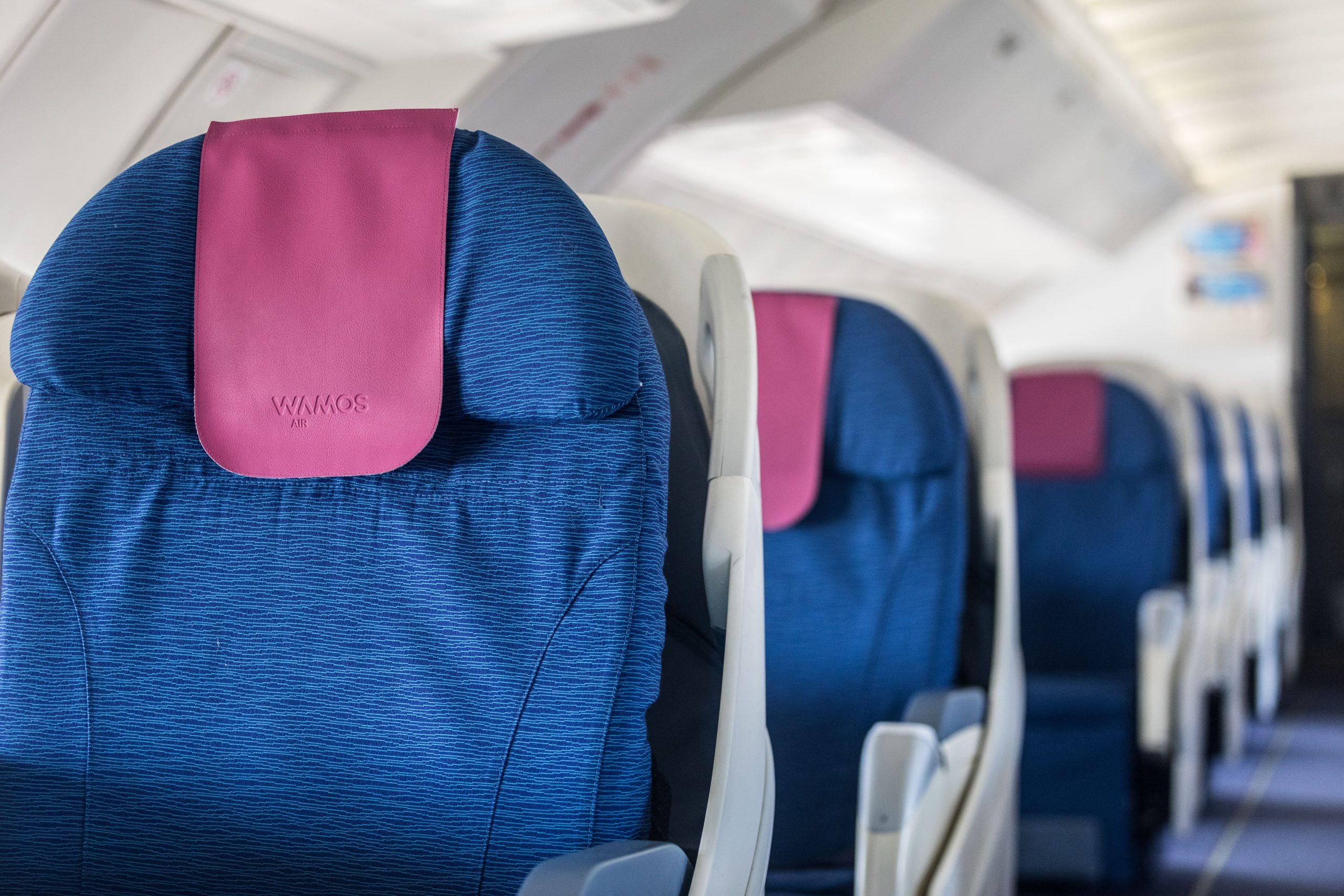 Ventajas de los servicios a bordo de Wamos Air