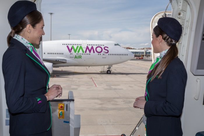 Wamos Air destaca por la calidad del servicio a bordo
