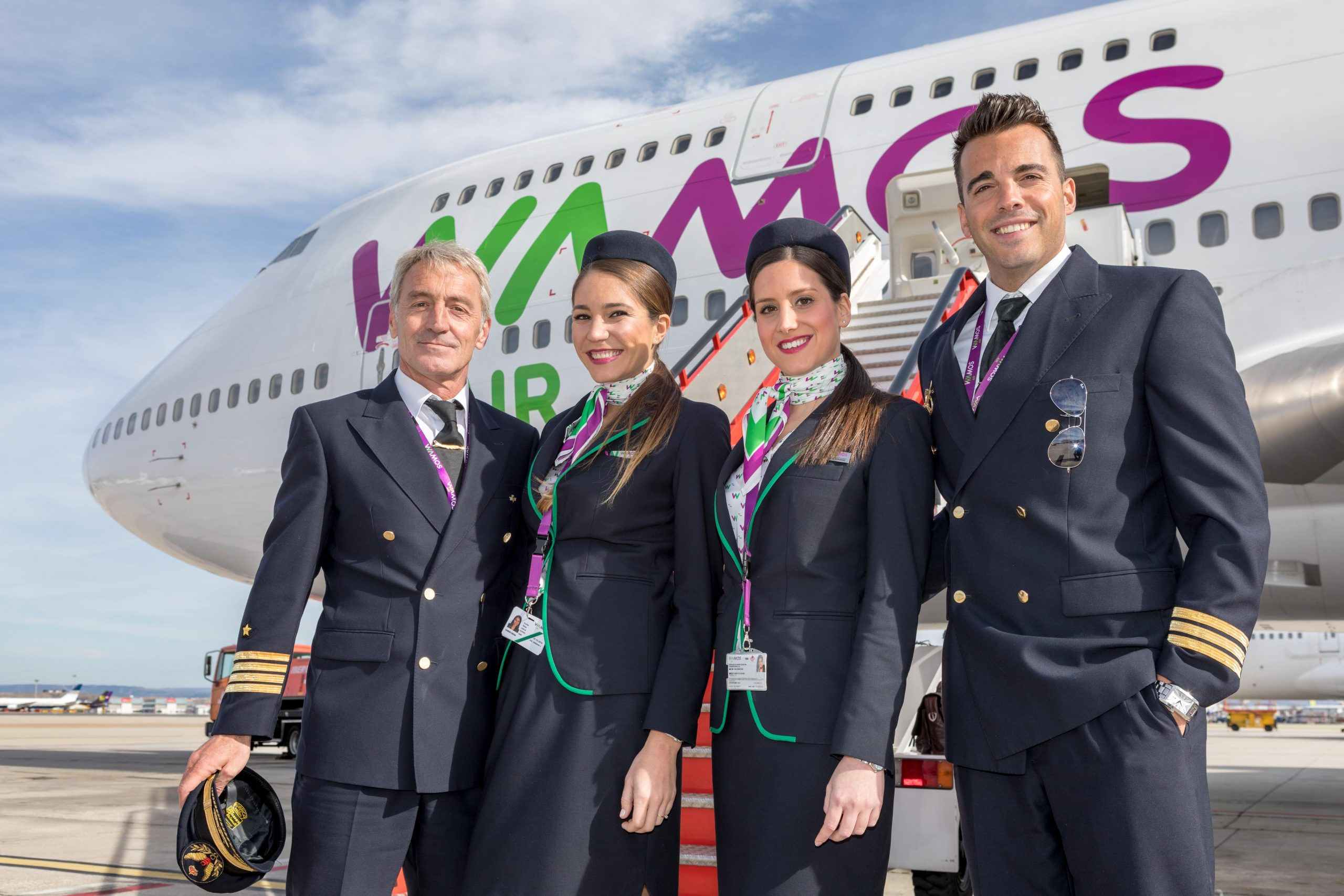 Opiniones favorables Wamos Air