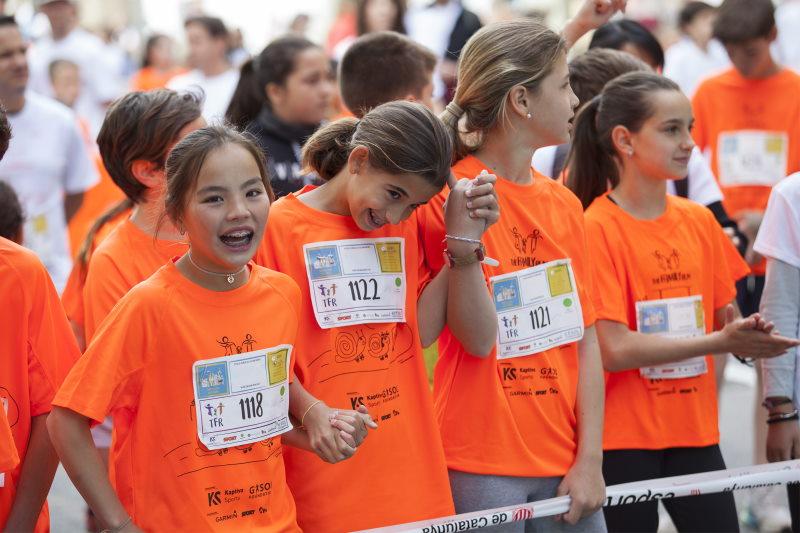 Road to Tokyo es la carreara organizada por Gasol Foundation para luchar contra la obesidad infantil